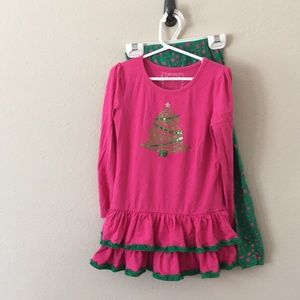 Flapdoodles Christmas outfit size 6x